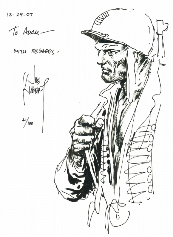 JOE KUBERT NEVER DIES